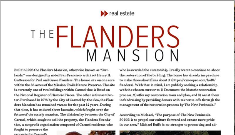 Flanders Mansion