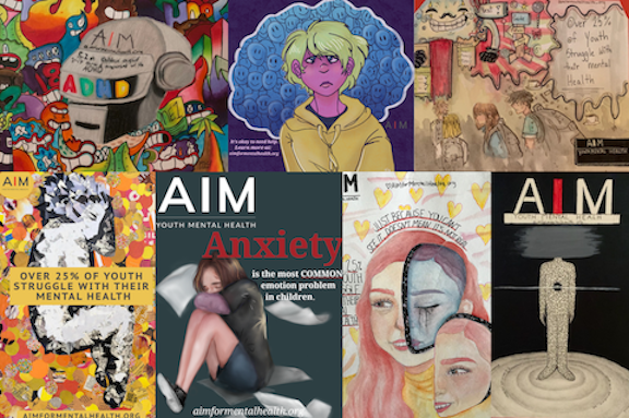 AIM for Awareness Art Exhibition