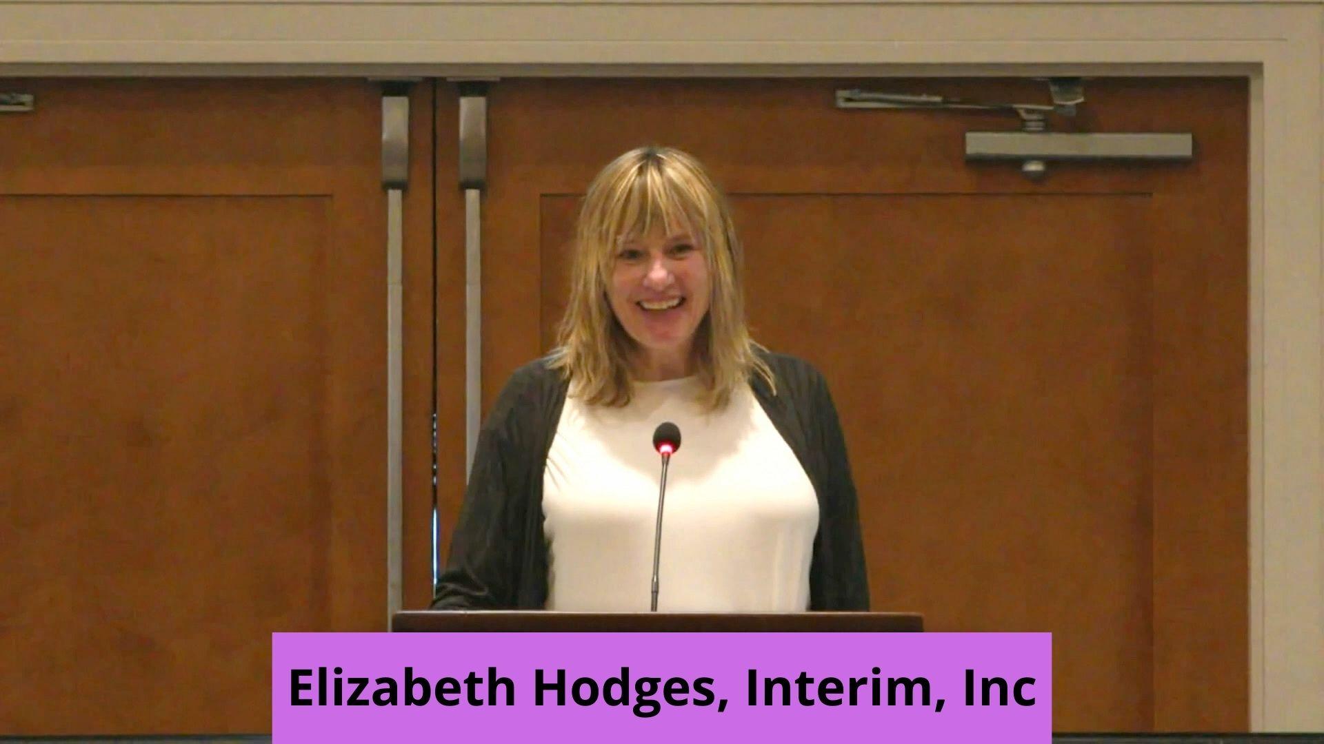 Elizabeth Hodges, Interim, Inc.